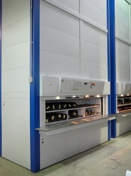 Industrial Vertical Carousel Storage System