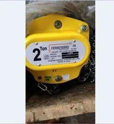 2 ton Ferreterro chain  pulley  block