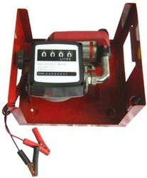 Battery Clamps Diesel Transfer Pump, 12V, 24V (Optional)