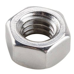 Hexagonal Stainless Steel Hex Nut, Thickness: 5-15 Mm