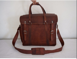 Real Leather Weekend Traveling Bag B 564