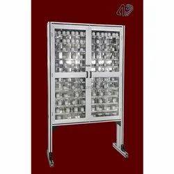 Steel Abhay Products Enclosed Storage Rack