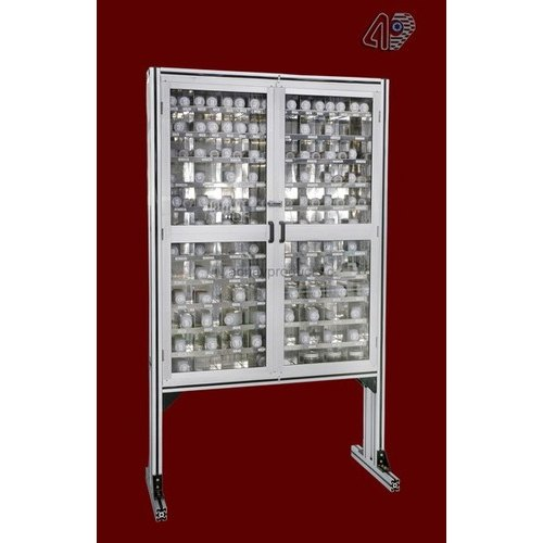 Steel Abhay Products Enclosed Storage Rack