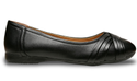 Bata Black Synthetic Ballerinas Women Shoes