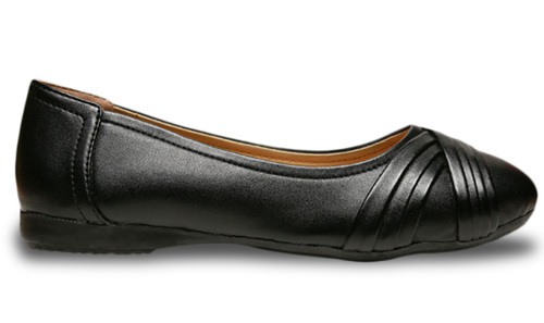 cf42f7d5bd1ef Bata Formal Shoes - Bata Black Women Ballerinas Shoes Retail ...