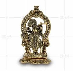 Gold Plated Shrinath Ji Idols
