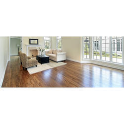 Wooden Flooring Brown Colored Vinyl Flooring Installation Services, For Commercial/Homes, In Local Area