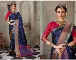 Stylish Designer Silk Saree