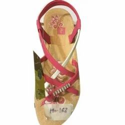 Flats & Sandals Casual Wear Ladies Fancy Sandal, For Daily, Size: 5-8