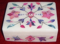 Marble Inlay Handmade Box
