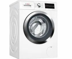 Bosch 8 kg Fully Automatic Front Load Washing Machine, WAT28461IN, White