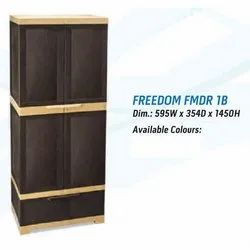 Plastic Brown Freedom 1B Cabinet, For Office