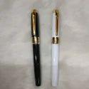 Black and White Metallic Ball Pen