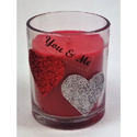 Glitter Valentine Special Candles