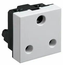 Modular White LEGRAND MYRIUS SOCKET, For Industrial, 673047