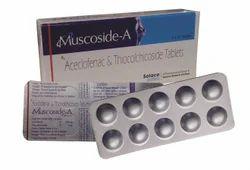 Thiocholchicoside 4mg, Aceclofenac 100 mg