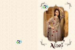 R9 Present Aliza Faux Georgette Pakistani Style Suit Collection