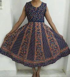 Sanganeri Printed Maxi Dress