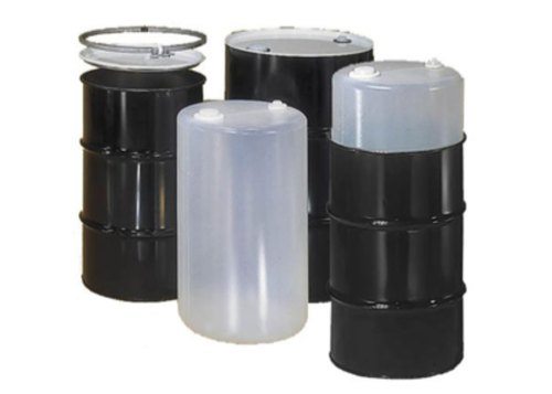 Mild Steel Black Composite Drums, For Industrial, Capacity: 200-250 litres
