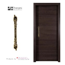 Look Brass Door Handle