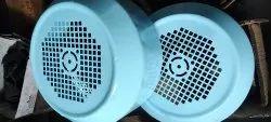 Blue Mild Steel Electric Motor Fan Cover