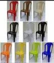 Colorful Plastic Chair Armlesd