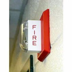 Apollo White Wall Mount Fire Safety Alarm