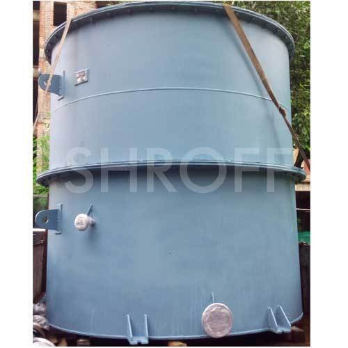 SHROFF MS Rubber Lined Tanks,Capacity : 500-1000 L