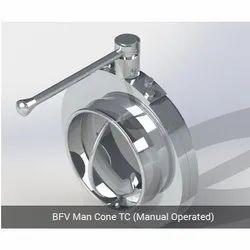 BFV Man Cone TC - Manual Operated
