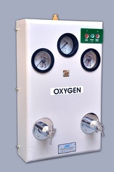Semi Automatic Medical Oxygen Gas Control Panel