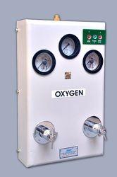 Semi Automatic Medical Oxygen Gas Control Panel