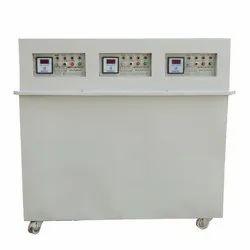 Steel 3 Phase 45 KVA Servo Voltage Stabilizer, for Industrial