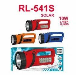 RL-541S Solar Recharegable LED Torch