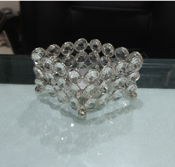 Crystal Tea Light Candle Holder for the Table