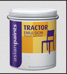 Asian Paints Tractor Emulsion Paint, Packaging Type: Bucket