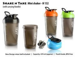 Shake N Take: Mini Shaker with Handle