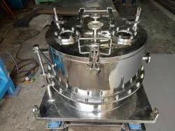 Centrifuge With Bag Lifting Arrangement