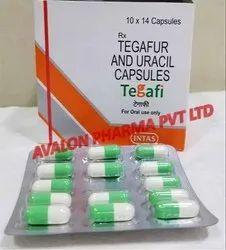 Intas Pharma Tegafi Capsule (Tegafur 100mg Uracil 224mg), 10/Strip