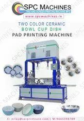 Two Color Ceramic Pad Printing Machine