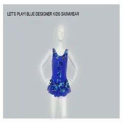 Blue Designer Kids Swim Wear