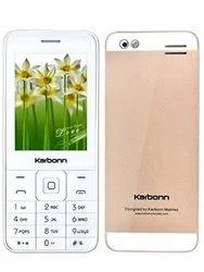 White Karbonn Mobile Phones, Yes, Model Name/Number: Karbonn Kphone One