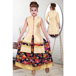 9b7dd487 Georgette Exclusive Kids Indo Western Dress, Rs 395 /piece | ID ...