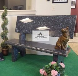 Luxury Granite Garden Bench