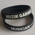 Black Promotional Wristband
