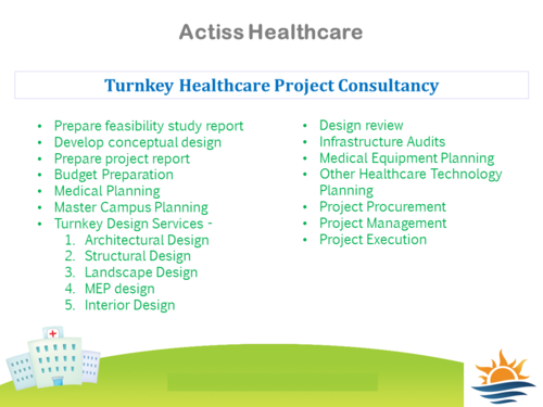 Hospital Project Consultancy Services In Vadgaon Budruk Pune