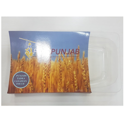 Plastic Thali Packaging, Dimension: 35 x 26 cm