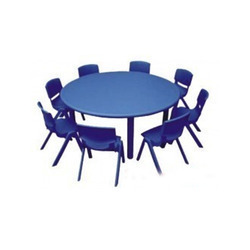 Play School Round Table at Rs 4500 piece Play School Furniture
