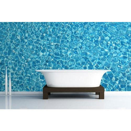Vinyl And PVC Horizontal Vertical Waterproof Wallpaper Size 56 Square Feet