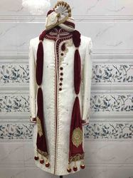 Men Sherwani With Beautiful Hand Work