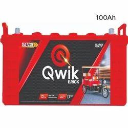 Qwik E Rickshaw Battery QER-1200, Voltage: 12 V
